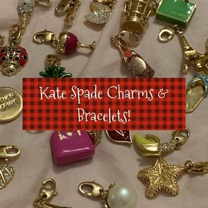 Kate Spade Charm OR Charm Bracelet A Collection